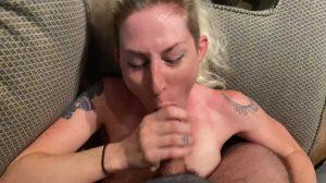 Blonde Blowjob Cheating Cum Cumshot Facial Petite