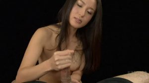 Cute Asian Jerking A Load Onto Her Hands