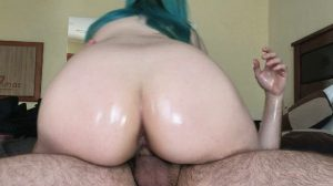 [FM] She Rides Me With Her Big Oiled Ass Until I Cum Inside Her