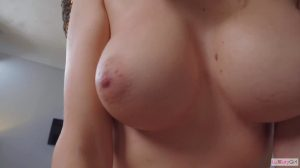 He Almost Came Insider Her!!! (With Nice Big Boobs)