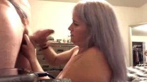 Wife Sucking And Taking Cum In Her Mouth